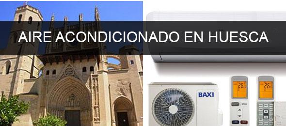 instaladores aire acondicionado Huesca